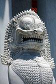 Lion sculpture detail, Bangkok, Thailand — Stock Photo