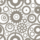Seamless texture or different gear wheels — Stock Vector