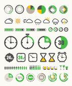 Different indicators collection — Vector de stock
