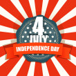 Royalty-Free Stock ベクターイメージ: The celebration of The Independence Day. Vector illustration