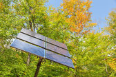 Electric solar cell — Stock Photo
