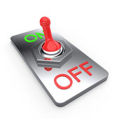 Switch on off — Stock Photo