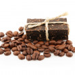 Coffee soap - Stock Photo