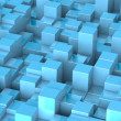 Stock Photo: Abstract cubes