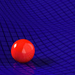 Red sphere — Stock Photo