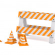 Traffic cones — Photo
