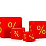 procentní podíl — Stock fotografie