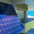 Solar cell panel — Stock Photo #11128337
