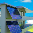 Solar cell panel — Stock Photo #11128379