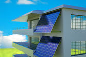 Photovoltaic module — Stock Photo