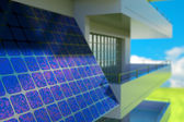 Solar cell panel — Stock Photo