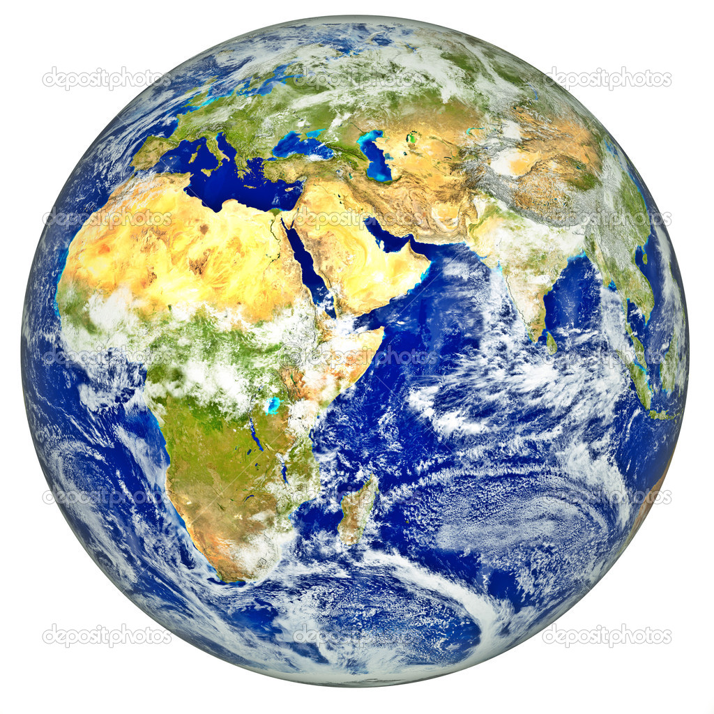 3d realistic globe  Stock Photo #11128637