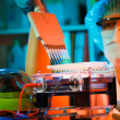 Stock Photo: Cancer research laboratory