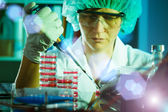 Biological research — Stock Photo