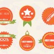 Royalty-Free Stock Vector Image: Quality Labels in retro vintage design