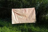 The crumpled cloth — Stock Photo