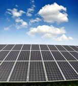 Solární panely — Stock fotografie