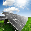 Solar energy panels — Foto de stock #11072602