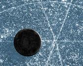 Hockey puck — Stock Photo
