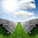 Solar energy panels — Stock Photo #11353298