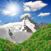 Grossglockner, Austria — Stock Photo