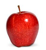 Roter apfel — Stockfoto
