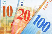 Switzerland Francs — Stock Photo