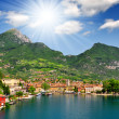 Stock Photo: City of Rivdel Garda,Lago di Garda,Italy