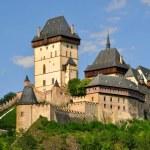 Royal castle Karlstejn — Stock Photo