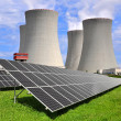 Nuclear power plant — Stock Photo #12139476