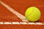 Balle de tennis — Photo