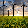 Wind turbines — Stock Photo #12258907