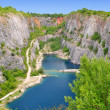 Stone quarry - Stock Photo