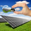 Solar panels — Stock Photo #12259023