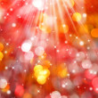 Christmas bokeh - Stock Photo