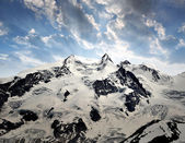 Monte Rosa - Swiss Alps — Stock Photo