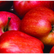 Foto Stock: Fresh red apple