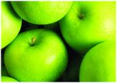 The fresh green apple — Stock Photo