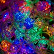 Christmas-tree light - Stock Photo