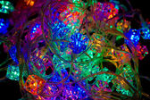 Christmas-tree light — Stock Photo