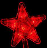 Nový rok hvězda — Stock fotografie