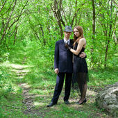 Picture of young beautiful couple — Stock Photo