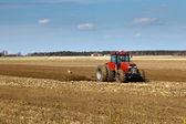 Tractors working — Stock Photo