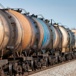 Oil transport - Stock Photo