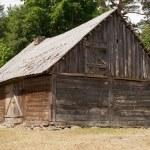 drewniana stodoła — Zdjęcie stockowe