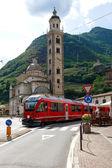 Tirano, Italy — Stock Photo