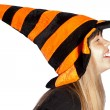 Large witches hat — Stock Photo