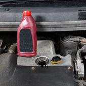Auto repair, oil change — Stock Photo