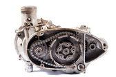 Motorcycle engine — Stock Photo