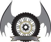 Logo motorcycle — Stock Vector
